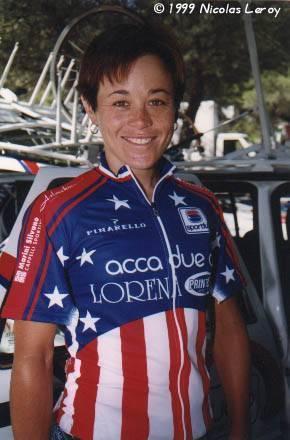 Mari Holden Cyclist Mari Holden - USA  Acca Due O