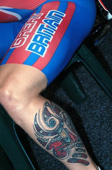 Jamie Staff 39s tattoo an inside look at one of the fastest legs in the