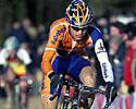 (Click for larger image) Sven Vanthourenhout (Rabobank) rides through the sand
