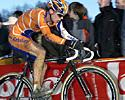 (Click for larger image) Sven Vanthourenhout (Rabobank) puts the power down