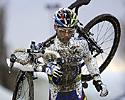 (Click for larger image) Sven Nys (Rabobank) finished sixth after puncturing twice