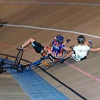 (Click for larger image) A nasty crash  in the elite womens' sevent.
