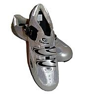 (Click for larger image) The Exustar E-SR221 road shoe in all its finery