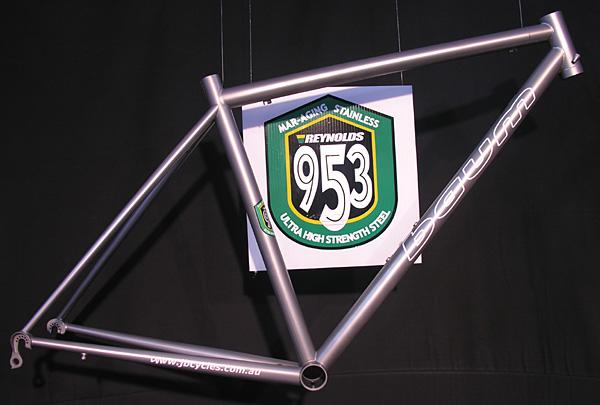 numpty question.is it possible to make a stainless steel bike frame ...