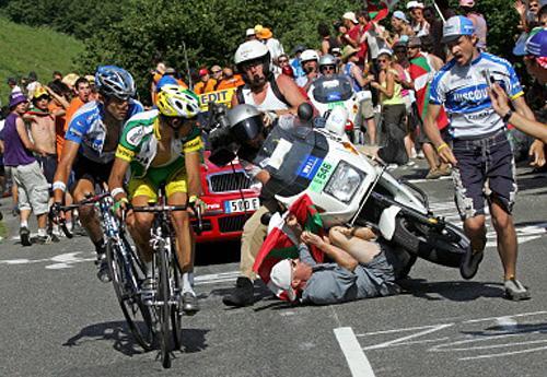 Tour De France Crashes