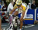 (Click for larger image) Robbie McEwen (Volvo Team T5) attacks