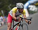 (Click for larger image) Dean Windsor (Drapac Porsche) forever on the attack� will it pay off on this stage?