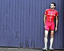 (Click for larger image) An Englishman in Melbourne�Drapac Porsche's  Tom Southam on the docks