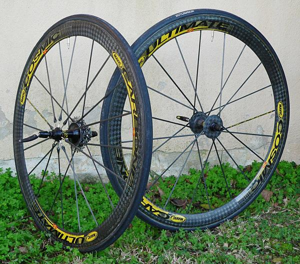 Dream wheelset, Mavic Cosmic Carbone Ultimates
