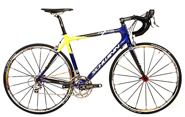 The 2007 Schwinn Peloton LTD is one of the lightest road bikes around