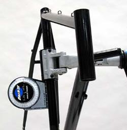 Measure head tube angle