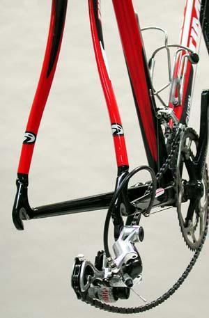 Carbon frames should not be cold set
